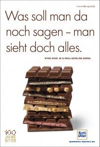Ritter Sport Werbung 2016
