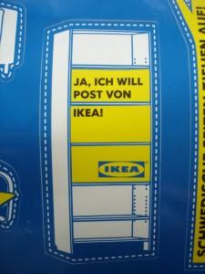 Ja Ich Will Post Von Ikea Billy Komm Markenradar