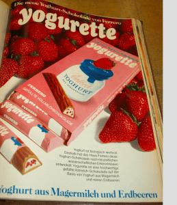 Yogurette von Ferrero - Werbung 1971
