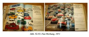 FIAT Werbung, 1971