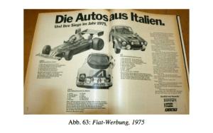 FIAT Werbung, 1975