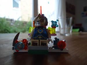 Lego Chima -Laval auf Reisen (Kreation: Morten)