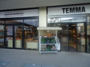 REWE, pardon..., TEMMA-Biosupermarkt ... Hamburg-Eppendorf